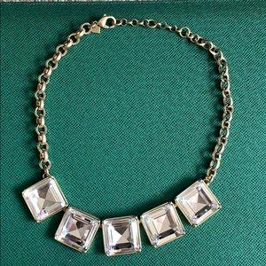 Banana republic square gem adjustable necklace